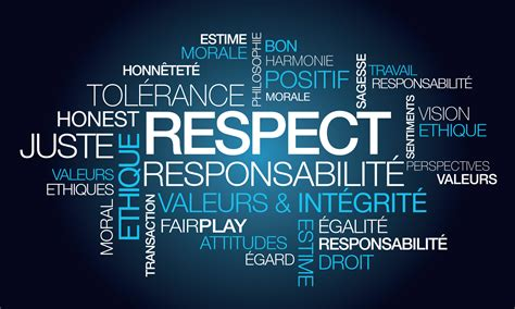 respect - Intégrité